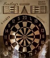 Image of Bentley's dart board
